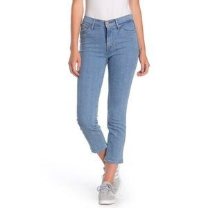 NWT LEVIS 724 High Rise Crop Sapphire Sky Jeans